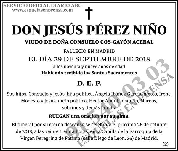 Jesús Pérez Niño